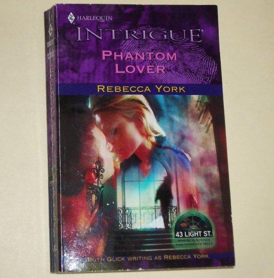 Phantom Lover by Rebecca York Harlequin Intrigue Romance 706 2003 43 Light St.