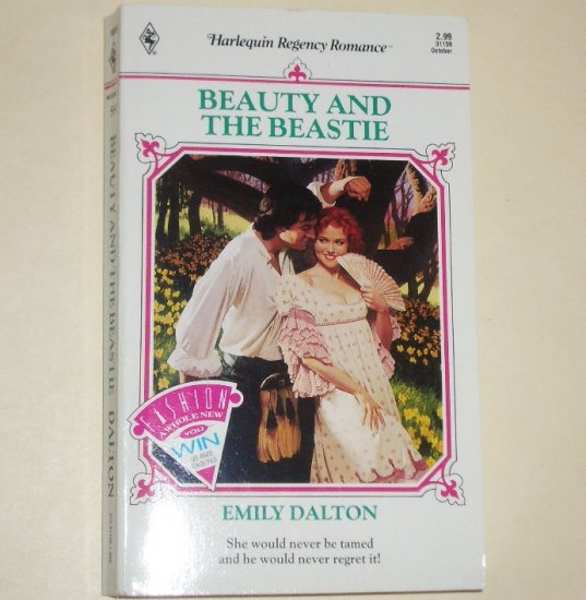 Beauty and the Beastie by EMILY DALTON Slim Harlequin Historical Regency Romance 1991
