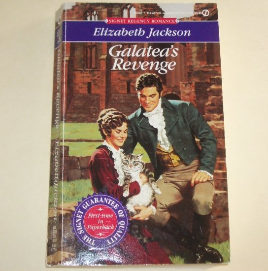 Galatea's Revenge by ELIZABETH JACKSON Signet Slim Historical Regency Romance 1993