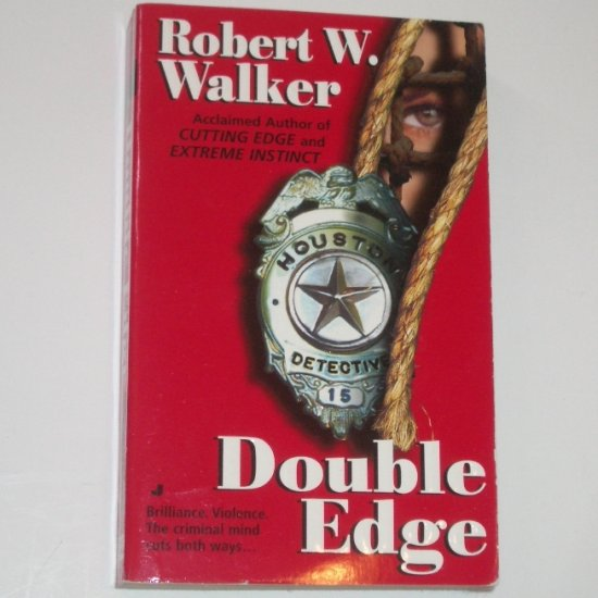 Double Edge by ROBERT W WALKER 1998 Thriller