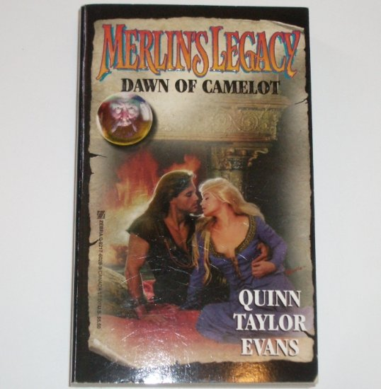 Dawn of Camelot Merlin's Legacy #5 by QUINN TAYLOR EVANS Medieval Celtic Romance 1998