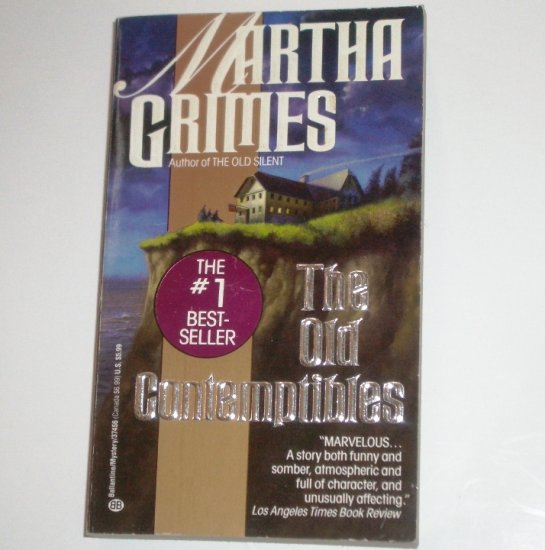 The Old Contemptibles by MARTHA GRIMES A Richard Jury Mystery 1992