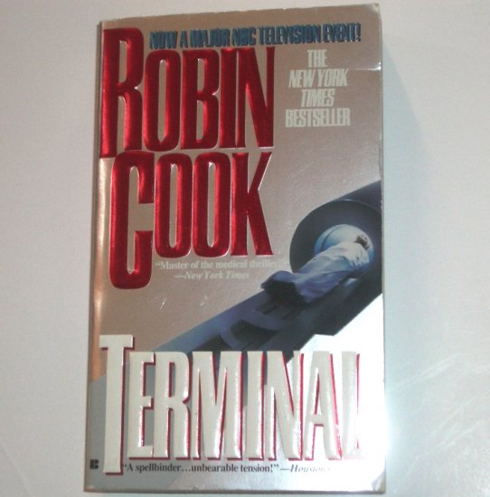 Terminal by ROBIN COOK Medical Thriller 1994