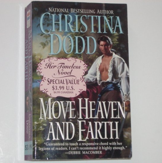 Move Heaven and Earth by Christina Dodd Historical Regency Romance 1999