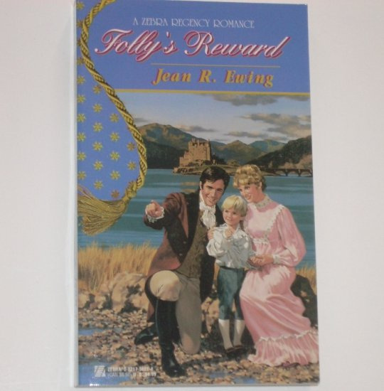 Folly's Reward by JEAN R EWING Zebra Historical Scottish Regency Romance 1997