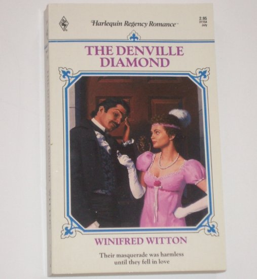 The Denville Diamond by WINIFRED WITTON Slim Harlequin Regency Romance No 54 1991