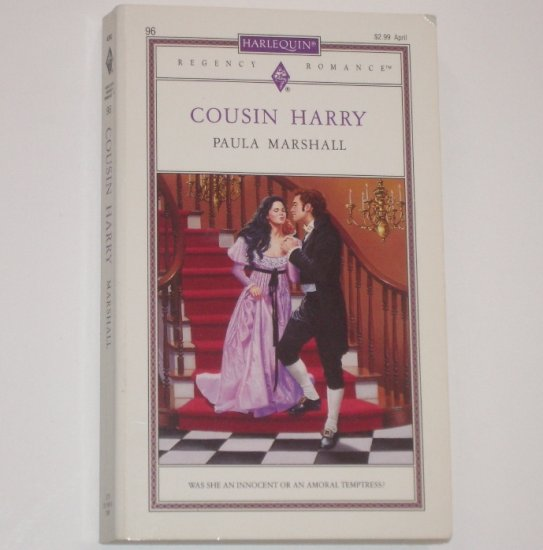 Cousin Harry by PAULA MARSHALL Harlequin Slim Regency Romance No 96 1993