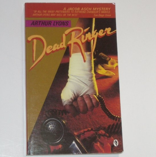 Dead Ringer by ARTHUR LYONS A Detective Jacob Asch Mystery 1983