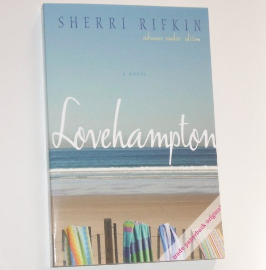 Lovehampton by SHERRI RIFKIN Advance Reader's Edition ARC 2008