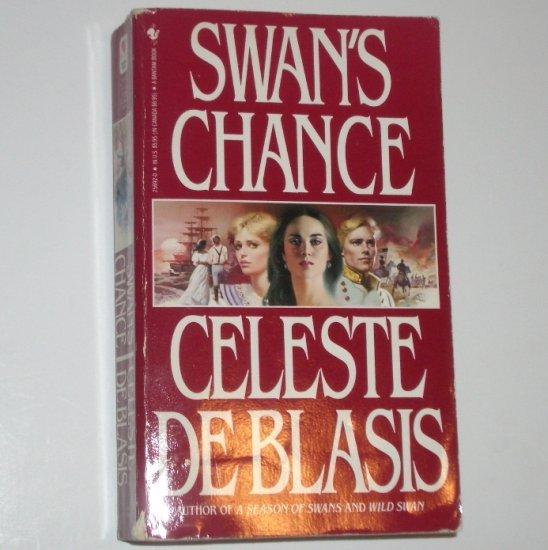 Swan's Chance by CELESTE de BLASIS Historical Civil War Romance 1986