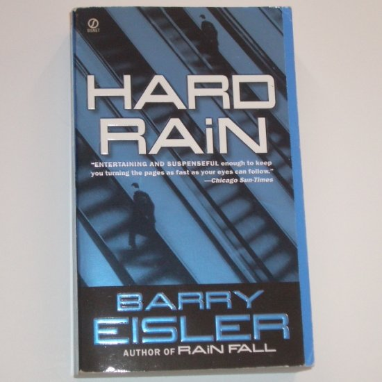 Hard Rain by BARRY EISLER Thriller 2004