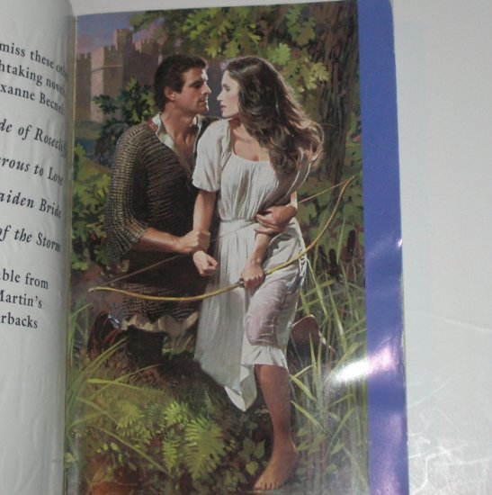 The Knight of Rosecliffe by REXANNE BECNEL Historical Medieval Romance 1999