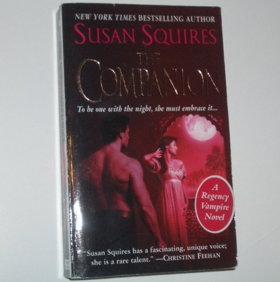 The Companion by SUSAN SQUIRES Historical Paranormal Vampire Romance 2005