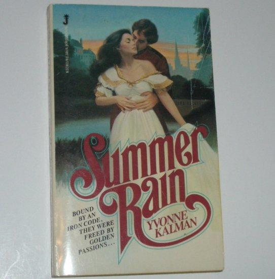 Summer Rain by YVONNE KALMAN Historical English Victorian Romance 1980