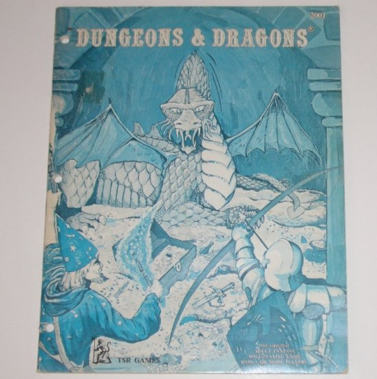 Dungeons & Dragons Rules for Fantastic Medieval Role Playing Adventure Game Campaigns 1978