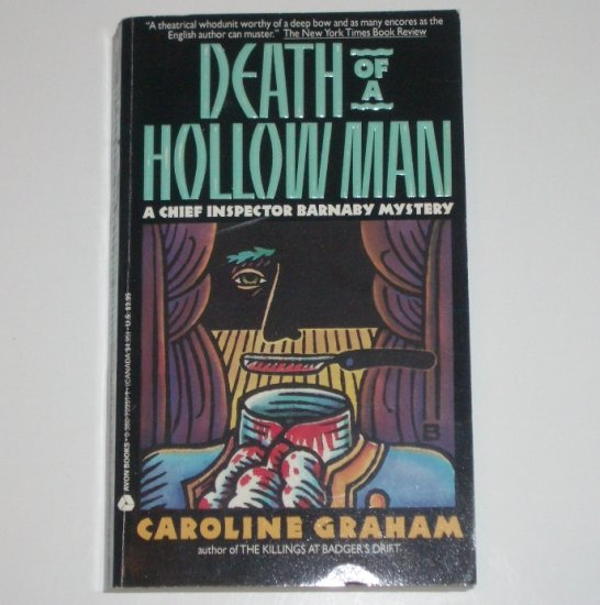 Death of a Hollow Man by CAROLINE GRAHAM A Chief Inspector Barnaby Mystery 1991