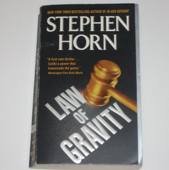 Law of Gravity by STEPHEN HORN Thriller 2003