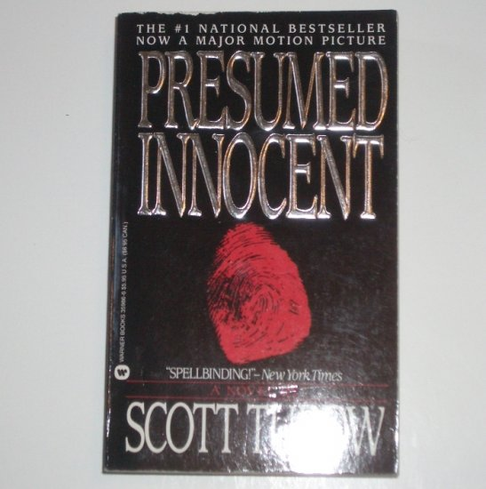 Presumed Innocent by Scott Turow Legal Thriller 1988