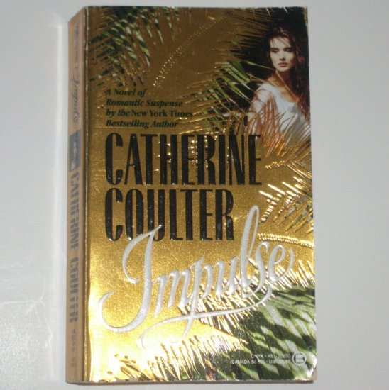 Impulse by CATHERINE COULTER Romantic Suspense Paperback 1991