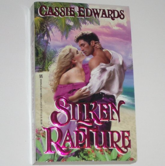 Silken Rapture by CASSIE EDWARDS Historical Romance 1983