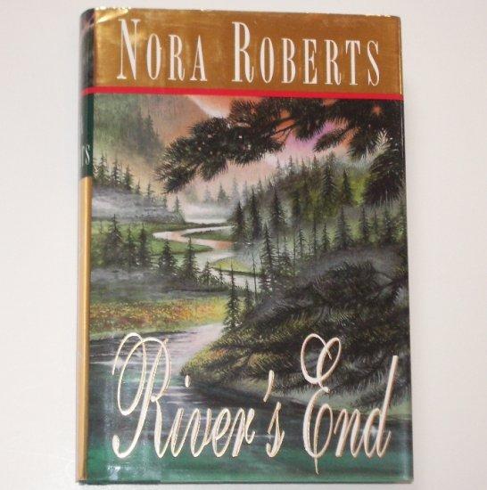River's End by Nora Roberts Romantic Suspense Hardcover Dust Jacket Putnam 1999