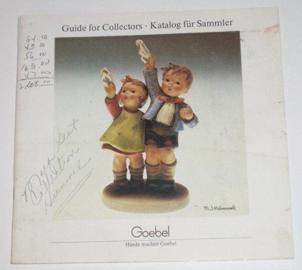 Goebel Guide for Collectors 1983