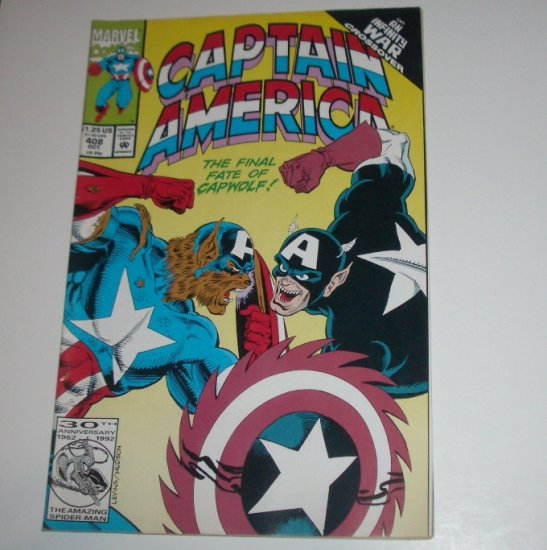 Captain America #408 (Marvel Comics 1992)