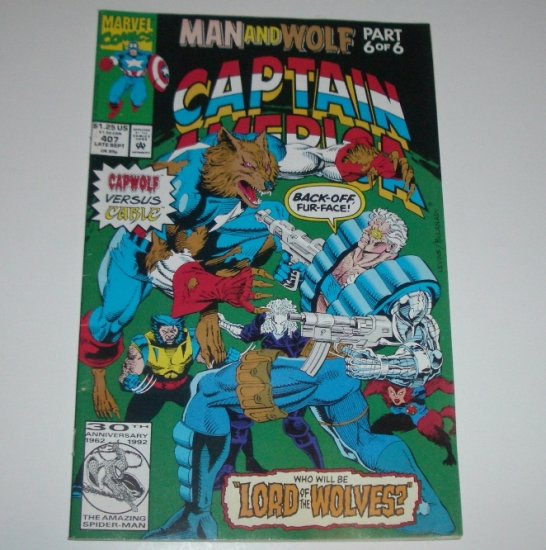 Captain America #407 (Marvel Comics 1992)