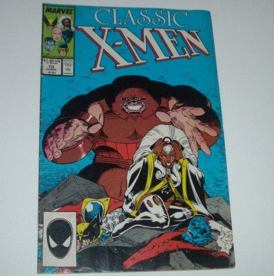 Classic X-Men #10 (Marvel Comics 1987)