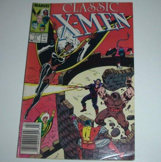 Classic X-Men #11 (Marvel Comics 1987)