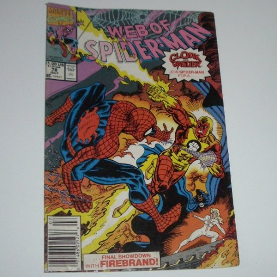 Web of Spider-Man #78 (Marvel Comics 1991)