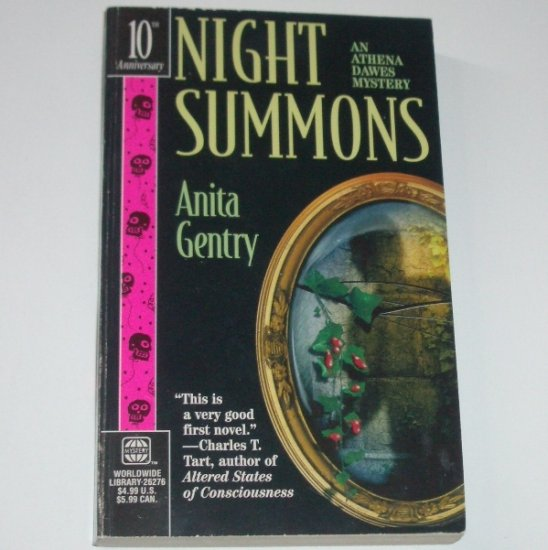Night Summons by ANITA GENTRY An Athena Dawes Mystery 1998
