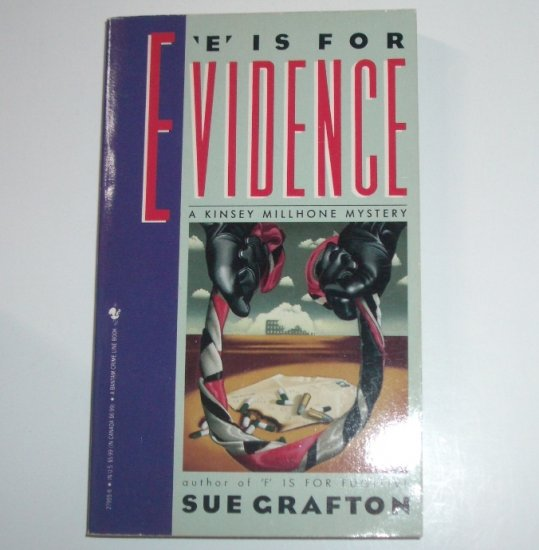 E is for Evidence by SUE GRAFTON Alphabet Mystery 1989