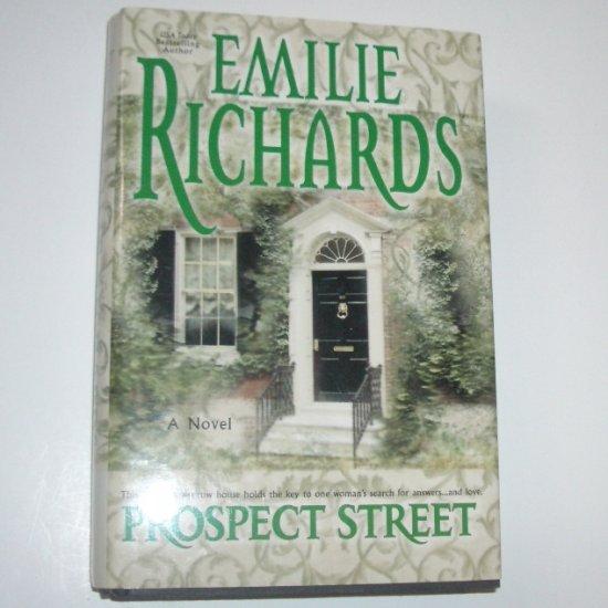 Prospect Street by EMILIE RICHARDS Hardcover Dust Jacket 2002