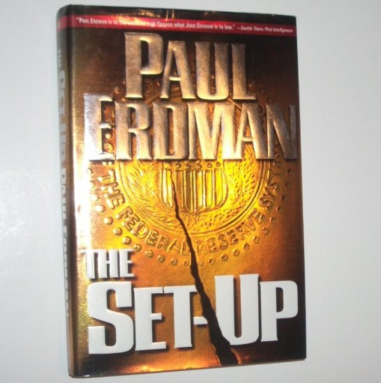The Set-Up by PAUL ERDMAN Thriller Hardcover Dust Jacket 1997 First Edition