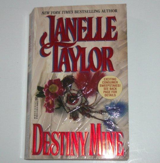Destiny Mine by JANELLE TAYLOR Historical Indian Romance 1996