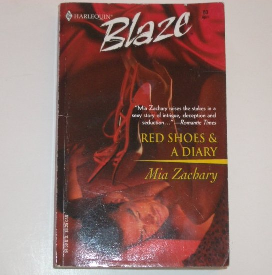 Red Shoes and a Diary by MIA ZACHARY Harlequin Blaze 83 Apr03