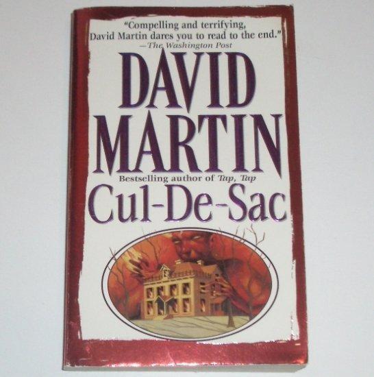 Cul-de-Sac by DAVID MARTIN Suspense Thriller 1998