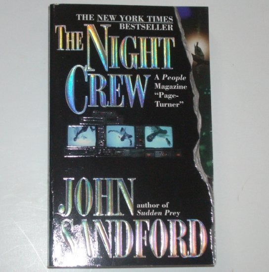 The Night Crew by JOHN SANDFORD Suspense Thriller 1998