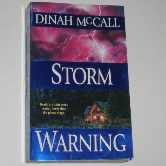 Storm Warning by DINAH McCALL Romantic Suspense 2001