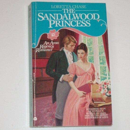 The Sandalwood Princess by LORETTA CHASE Avon Historical Regency Romance 1991
