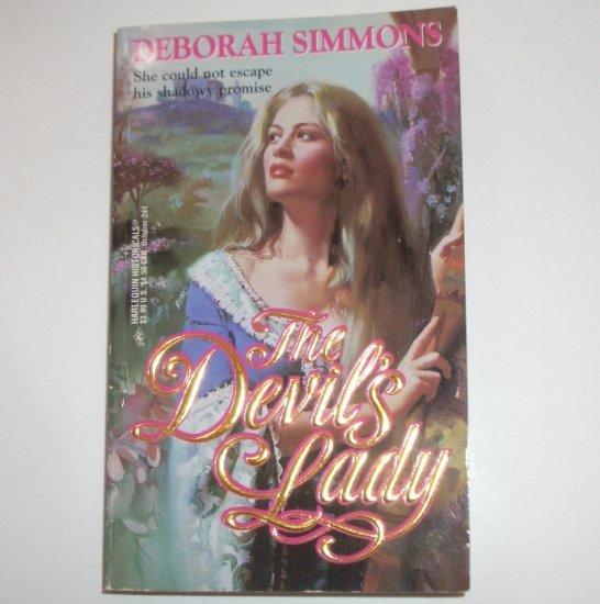 The Devil's Lady DEBORAH SIMMONS Harlequin Historical English Medieval Romance 1994 De Laci Series
