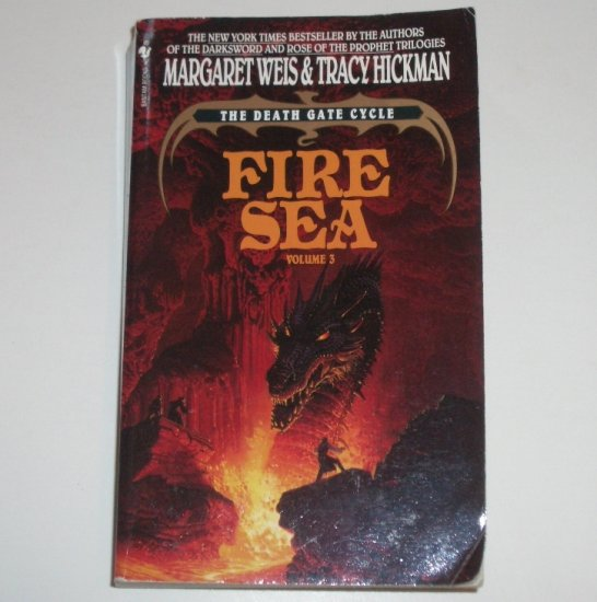 Fire Sea by Margaret Weis, Tracy Hickman The Death Gate Cycle Vol 3 1992