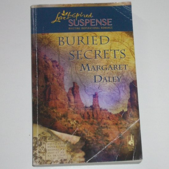 Buried Secrets by MARGARET DALEY Love Inspired Christian Romantic Suspense 2007
