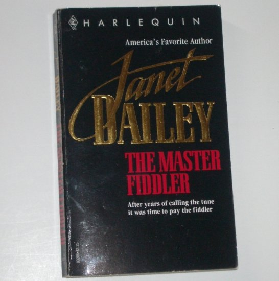 The Master Fiddler by Janet Dailey Contemporary Western Romance 1981