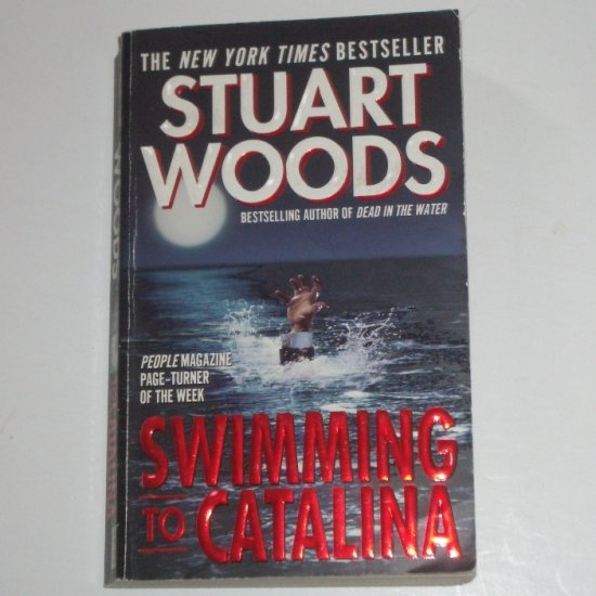 Swimming to Catalina by STUART WOODS A Stone Barrington Mystery 1998