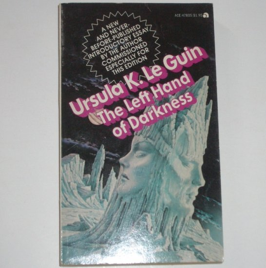 The Left Hand of Darkness by URSULA K Le GUIN Science Fiction 1976