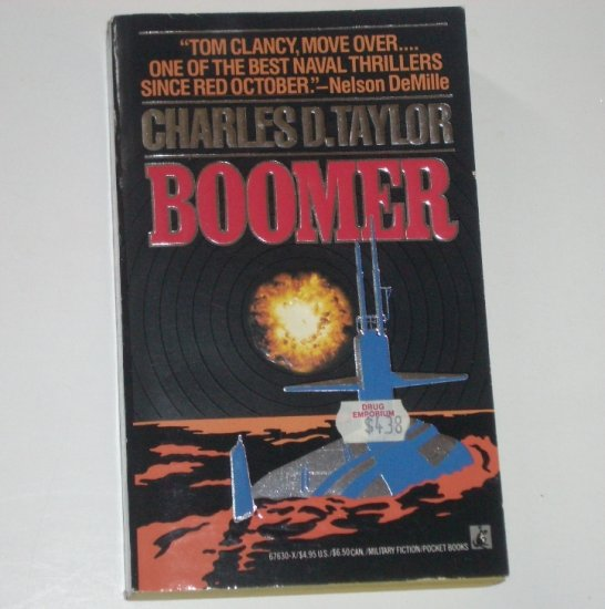 Boomer by CHARLES D TAYLOR Military Fiction1990