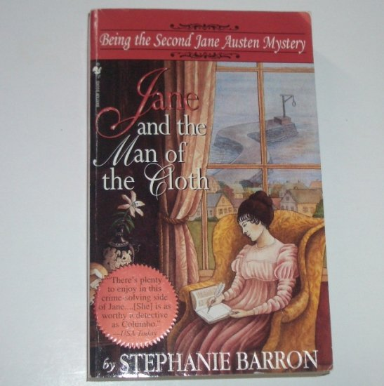 Jane and the Man of the Cloth by STEPHANIE BARRON Being the Second Jane Austen Mystery 1997 Cozy