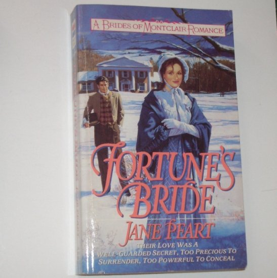 Fortune's Bride by JANE PEART Historical Colonial Romance 1994 Brides of Montclair Series